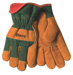 Kinco 1721GR Suede Russet Cowhide Gloves (one dozen)