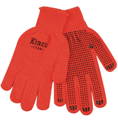 Kinco 1748 Acrylic Knit Gloves with PVC Dots (one dozen)
