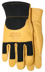 Midwest 175 Goatskin Leather Knuckle Strap Gloves (One Dozen)