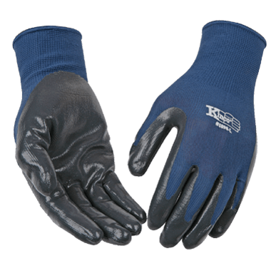 Kinco 1890 Coated Nitrile Gripping Gloves (One Dozen)