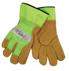 Kinco 1919 Unlined Reflective Grain Pigskin Gloves (one dozen)