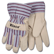Youth's Lined Ultra Suede Gloves Kinco 1927Y (one dozen)