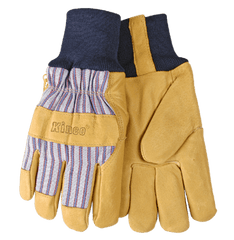 Kinco 1927KW Lined Grain Pigskin Gloves (one dozen)