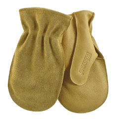 Kinco 1931 Unlined Cowhide Chopper Shell Leather Mittens (one dozen)