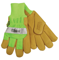Kinco 1939KW Lined Pigskin Safety Cuff Gloves (one dozen)