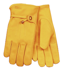 Kinco 199 Unlined Premium Grain Cowhide Drivers Gloves (one dozen)
