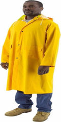 Majestic 7020 Hooded Waterproof Raincoat, 48""