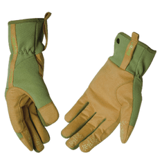 Kinco 2005W Woman's Synthetic Leather Drivers Gloves Green (one dozen)