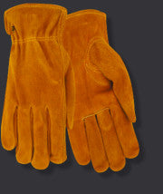 Red Steer 55190 Suede Cowhide Lined Drivers Gloves (One Dozen)