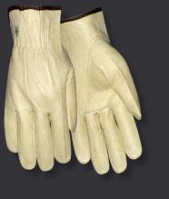 Red Steer 1665 Pigskin Unlined Drivers Gloves (One Dozen)