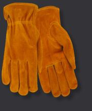 Red Steer 15170 Suede Cowhide Drivers Gloves (One Dozen)