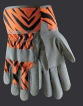 Red Steer 293T Zoohands Tiger Kid's Gloves (One Dozen)