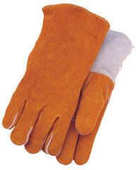Midwest 288 Russet Leather Welding Gloves (One Dozen)