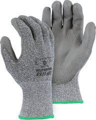 Majestic 33-1500 Cut-Less Annihilator Poly Coated Seamless Knit Gloves (One Dozen)