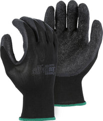 Majestic Light Weight Superdex 3378BK Latex Palm Dipped Glove on Nylon Liner Gloves (One Dozen)