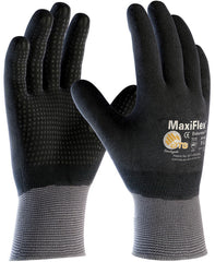 Seamless Knit Nylon With Nitrile Coated Micro-Foam Grip  Gloves PIP 34-846 (One Dozen)