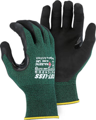 Majestic 35-3365 Cut Less Watchdog Glove With Exceptional Micro Foam Black Nitrile Palm Gloves (One Dozen)