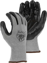 Majestic 35-7660 Cut-Less Watchdog with Flat Nitrile Palm Gloves (One Dozen)