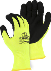 Majestic Cut-Less Watchdog Glove 35-7676 With Sandy Nitrile Palm,A6 Cut Gloves (One Dozen)