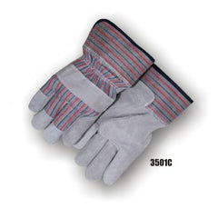 Majestic Split Cowhide Palm Gloves 3501C (one dozen)