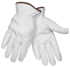 Premium Grain Goatskin Leather Drivers Gloves MCR Safety 3611 (One Dozen)
