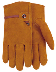 Midwest 431E Russet Suede Leather Gloves (One Dozen)