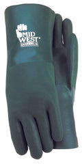 Midwest 4412T PVC Coated Chemical Gloves (One Dozen)