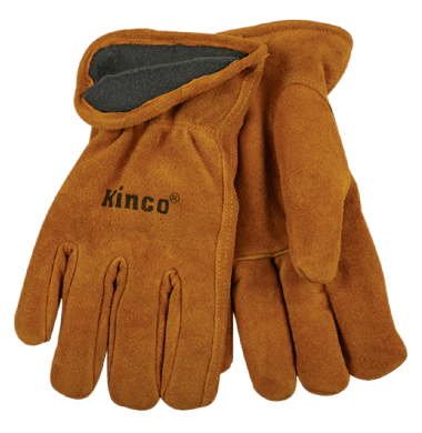 Kinco 50RL Lined Suede Cowhide Drivers Gloves (one dozen)