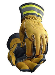 Tuff Steer Hi-Viz Welding Boarhide Work Gloves Caiman 1241 (1 Pair) L-XL