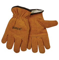 Kinco 51pl Lined Suede Cowhide Gloves (one dozen)