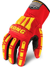 Ironclad KONG KRC5-04 Rigger Grip Cut 5 Oil & Gas Safety Impact Glove (One Dozen) 12 Pair