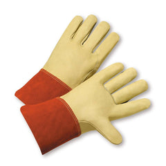 West Chester 6000 Grain Cowhide Welder Gloves (One Dozen)