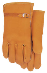 Midwest 602 Grain Leather With Buckle Strap Gloves (One Dozen)