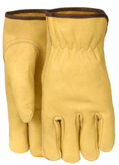 Midwest 610 Grain Leather Keystone Thumb Gloves (One Dozen)