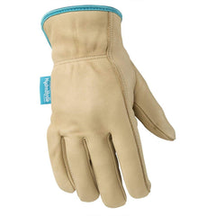 Wells Lamont 1167 Leather Work Gloves with HydraHyde Technology, 12 Pairs