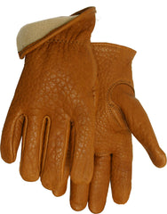 Midwest 650V Vellux American Buffalo Leather GLoves (One Dozen)