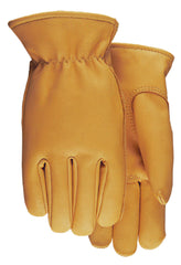 Midwest 688 Grain Saddletan Leather Gloves (One Dozen)