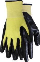 Midwest 68 Kevlar Liner With Nitrile Palm Gloves  (One Dozen)