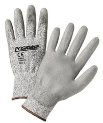 West Chester 713HUTS Polyurethane Gray HPPE Gloves (One Dozen)