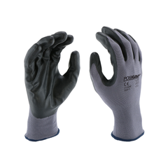 West Chester 713SNF PosiGrip Foam Nitrile Palm Coated Polyester Gloves (One Dozen)