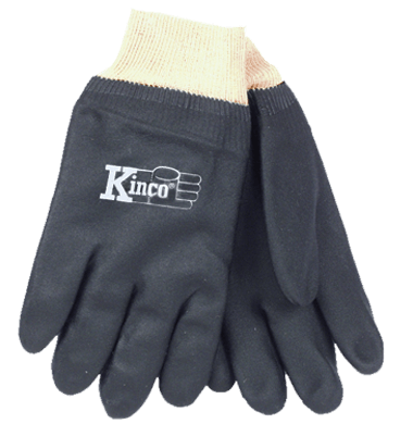 Kinco 7170 PVC, Knit Wrist Gloves (one dozen)