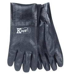 "Kinco 7182 12"" Rough PVC Gloves (one dozen)"