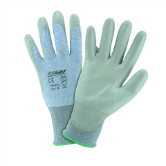 West Chester 718HSPU Polyurethane Blue HPPE Gloves (One Dozen)