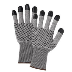 West Chester 730TBNDT Nitrile Dots and Fingertip Gloves (One Dozen)