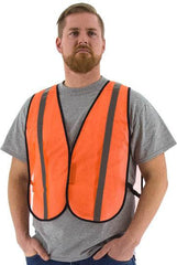 Site Safety Mesh Vest, Non Ansi - Majestic 75-3004