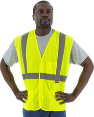 Majestic 75-3203 High Visibility Mesh Safety Vest, Ansi 2, R