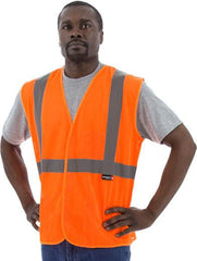 Majestic 75-3204 High Visibility Mesh Safety Vest, Ansi 2, R