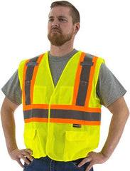 High Visibility Mesh Vest With Dot Striping, Ansi 2, R - Majestic 75-3211