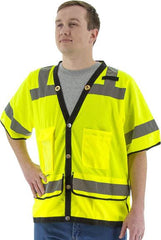 High Visibility Heavy Duty Mesh Vest, Ansi 3, R - Majestic 75-3307