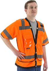 High Visibility Heavy Duty Mesh Vest, Ansi 3, R - Majestic 75-3308